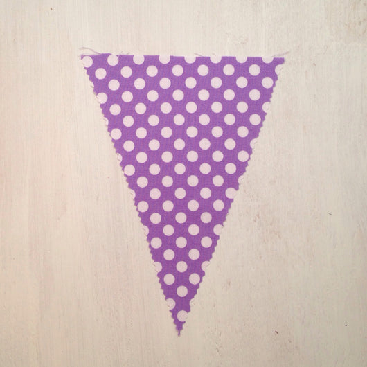 Purple Dot Flag