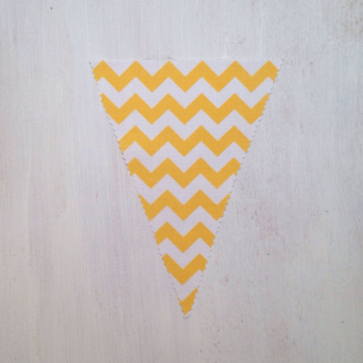 Yellow Chevron Flag