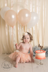 Ribbon Backdrop - Your choice of colours