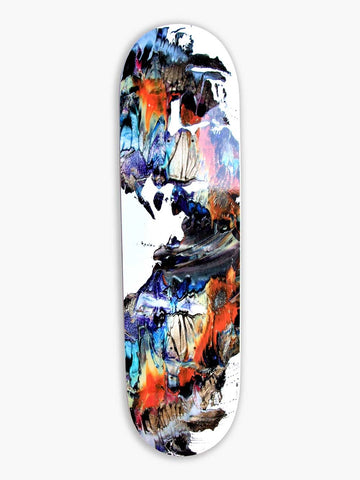 Abstract Skateboard Deck,  DKD-HD3-EX