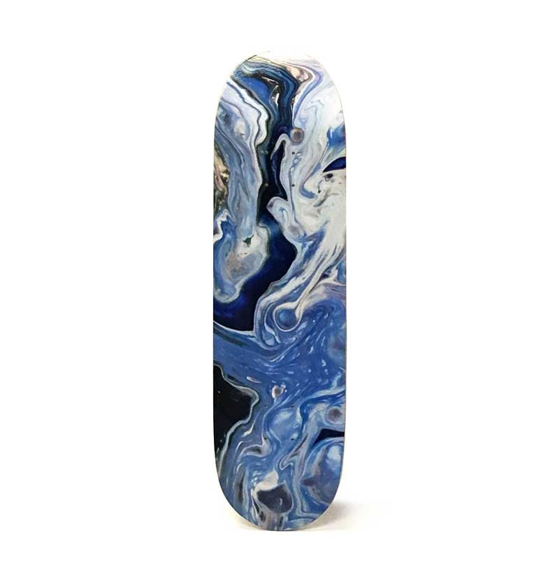 Abstract Art Skateboard Deck - P01