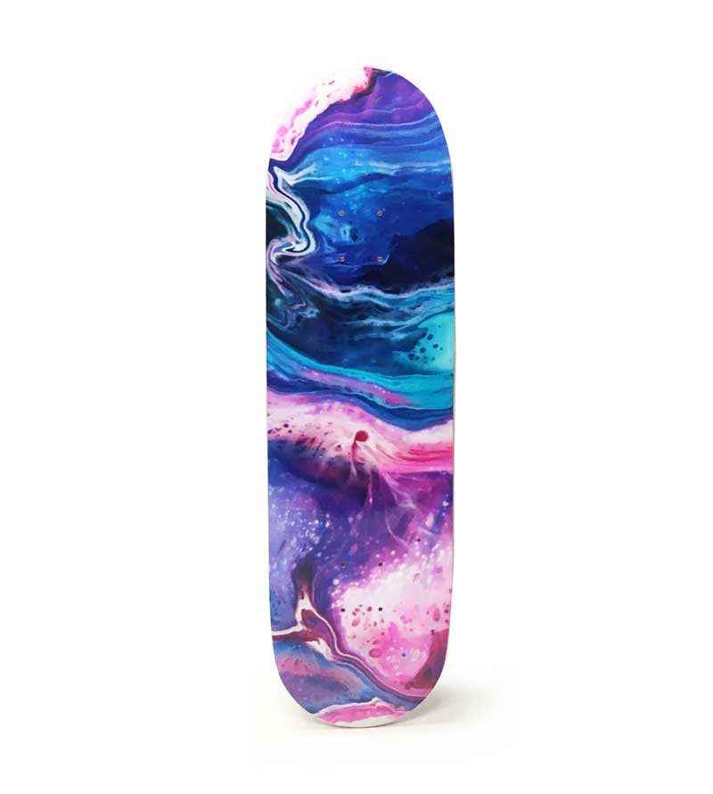 Abstract Art Skateboard Deck - P90