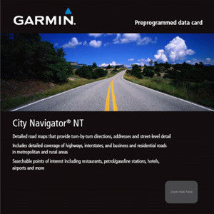 City Navigator® North America on micro SD card