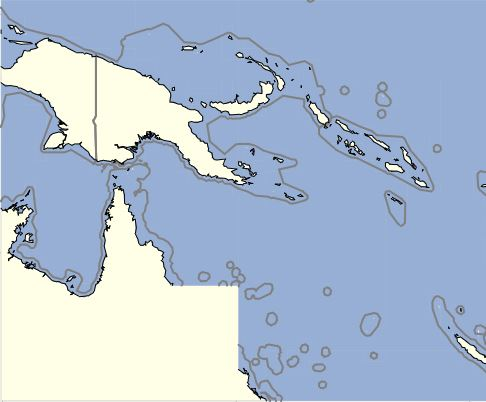 OZtopo PNG V1.3 - a set of 20m contours covering Papua New Guinea with OSM Roads and Tracks