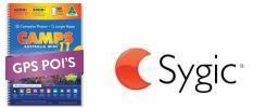 CAMPS 11 Premium POIs for GPSs using Sygic Software