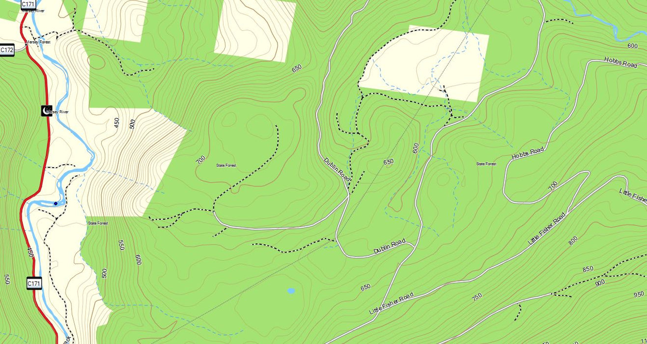 OZtopo V9 - Australian Topographical Maps for Garmin GPS units without mSD
