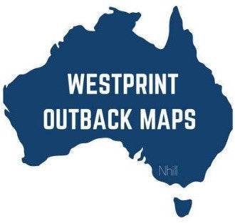 Westprint, a series of Outback Maps