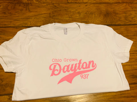 Ohio Grown - Dayton (Pink) T Shirt