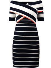 Maritime Stretch Dress