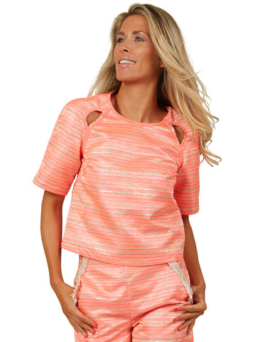 Neon Sunset Top