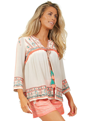 Tropical Boho Jacket