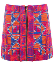 Peruvian Patchwork Skirt
