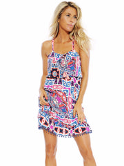 Ruffle Gypsy Dress