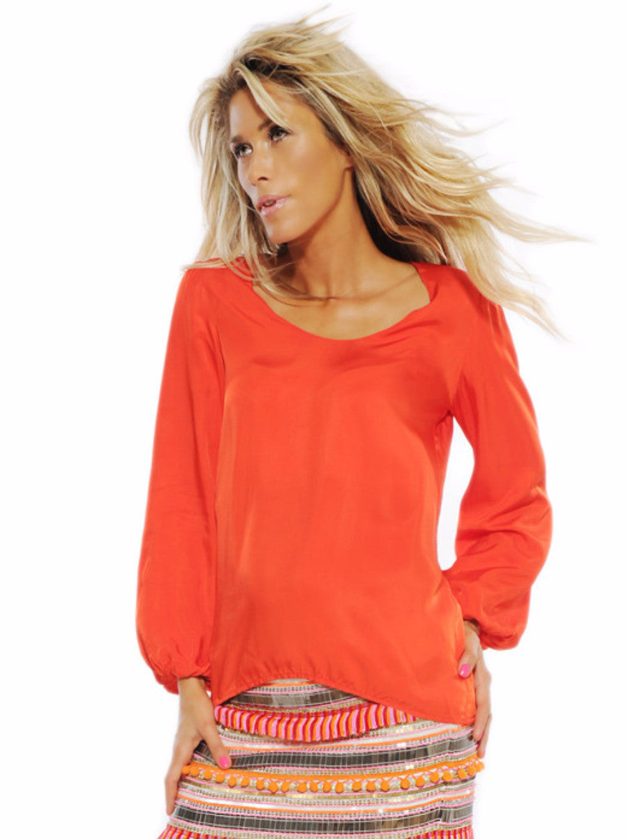Sunset Tunic Top