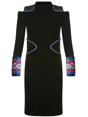 Maasai Cuff Wool Dress