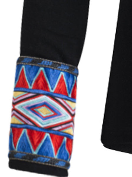 Maasai Cuff Wool Sweater