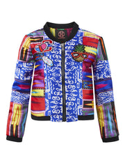 RAINBOW MINI BOMBER JACKET - FOR KIDS