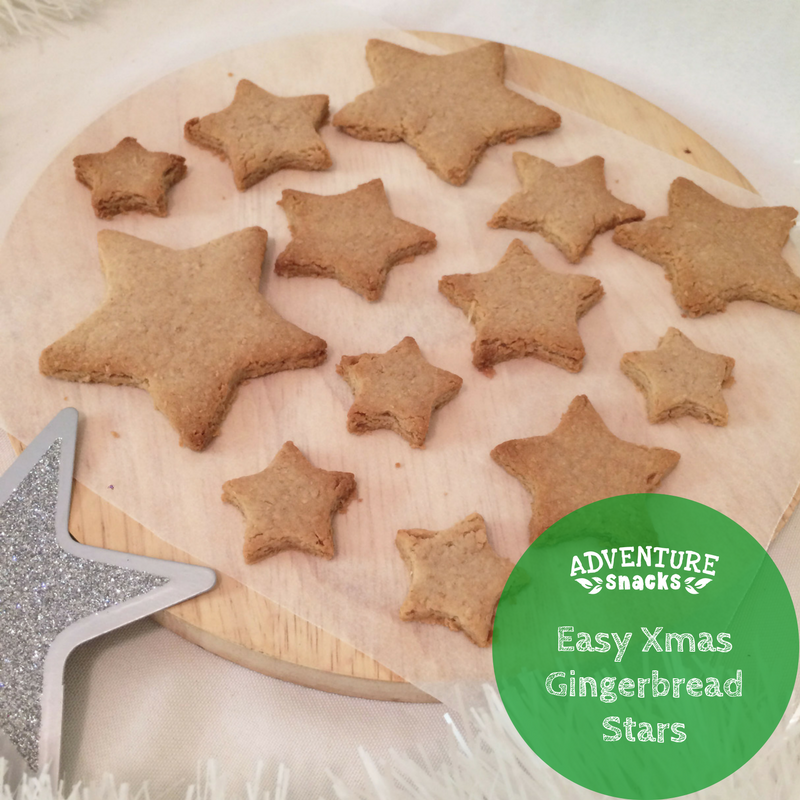 [Recipe]: Easy Gingerbread Xmas Stars