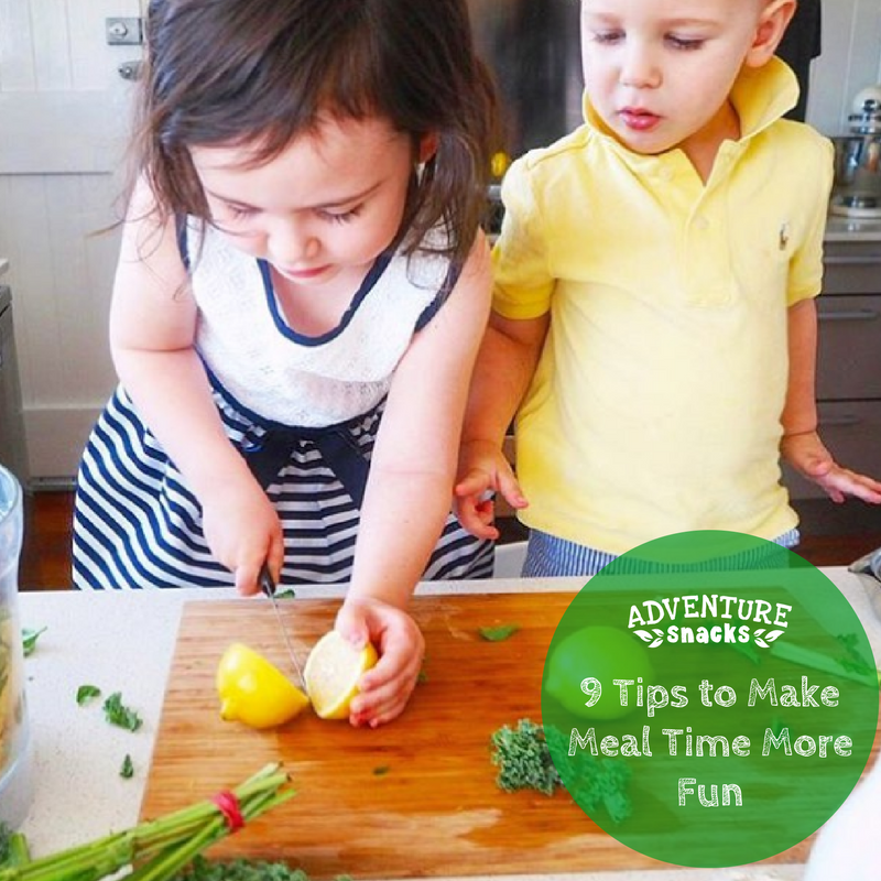 9 Tips to Make Meal Time More Fun for Kids