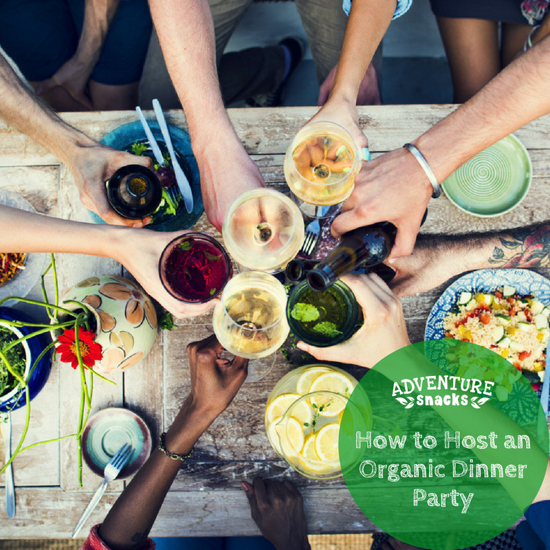 [Guest Post]: How to Host an Organic Dinner Party