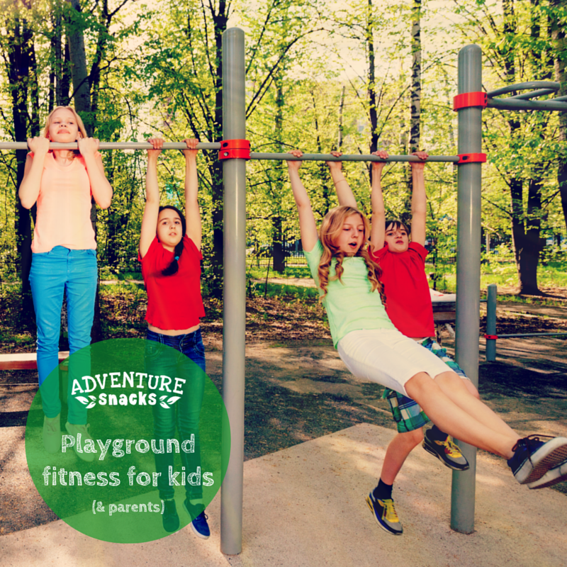 Playground Fitness for Kids (& Parents!)