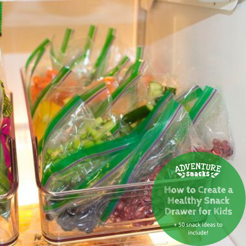 How to Create a Healthy Self-Serve Snack Drawer for Kids