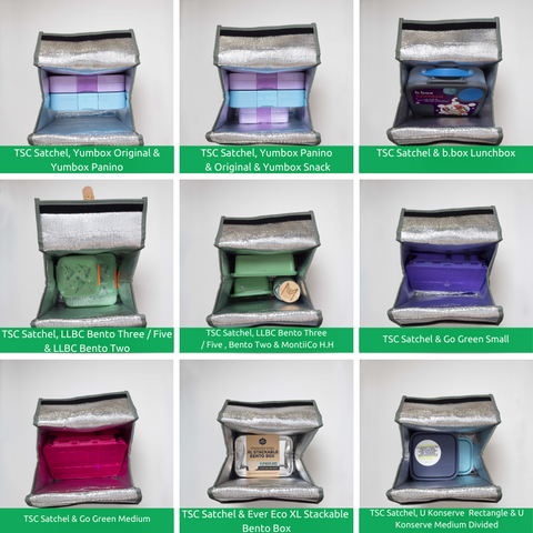 TSC Lunch Satchel and lunchboxes