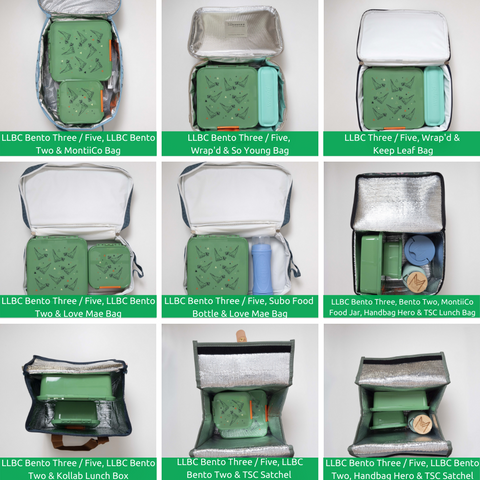 Bento Three and Lunch Bags