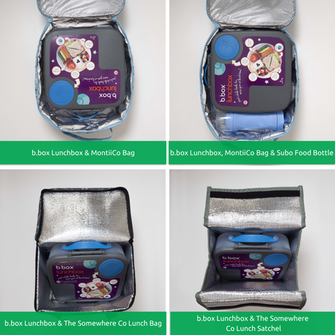 Which lunch bag does the Bbox fit in