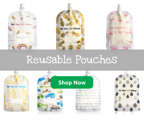 Adventure Snacks Reusable Pouches