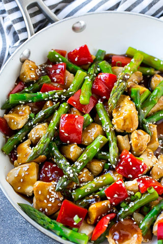 Teriyaki Chicken Stir Fry Recipe