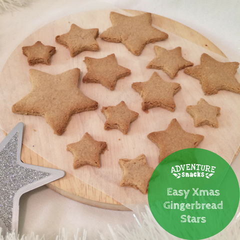Easy Healthy Gingerbread Stars Recipe