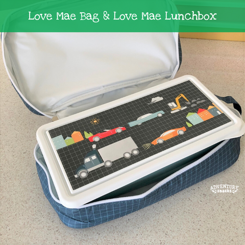 Love Mae lunchbox and Love Mae cooler bag