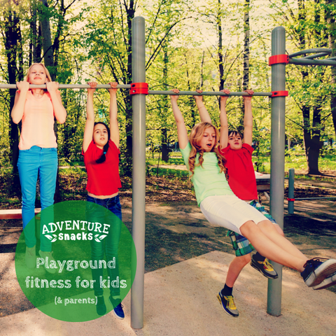 Playground Fitness for Kids, and Parents