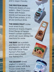 Adventure Snacks in Women's Health Magazine