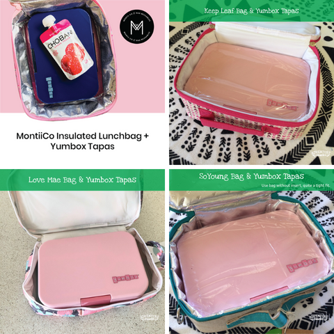 Yumbox Tapas and lunch bags