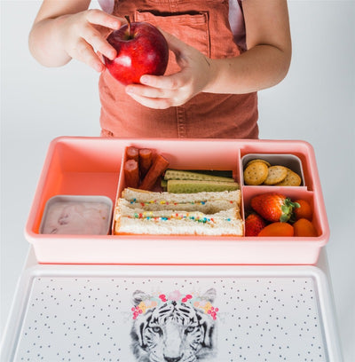 Love Mae Lunchbox - Floral Tiger