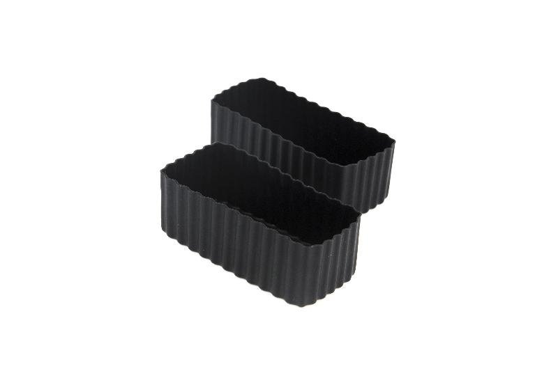 Bento Cups - Black Rectangle