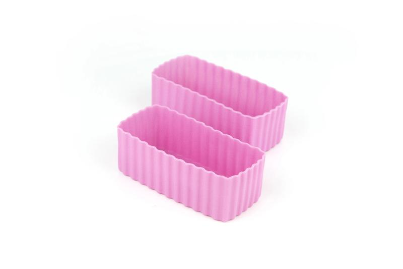 Bento Cups - Pink Rectangle
