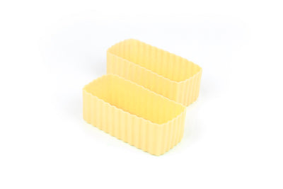 Bento Cups - Yellow Rectangle