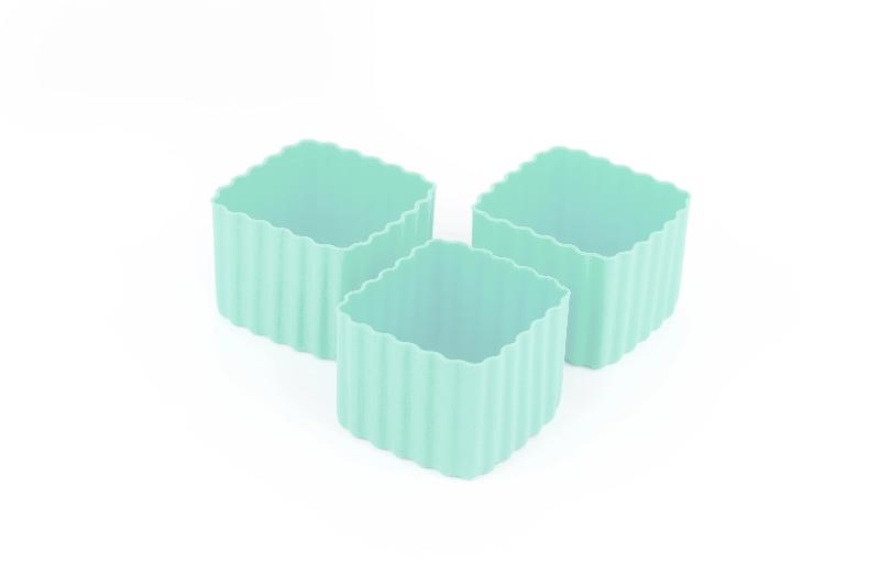Bento Cups - Blue Square