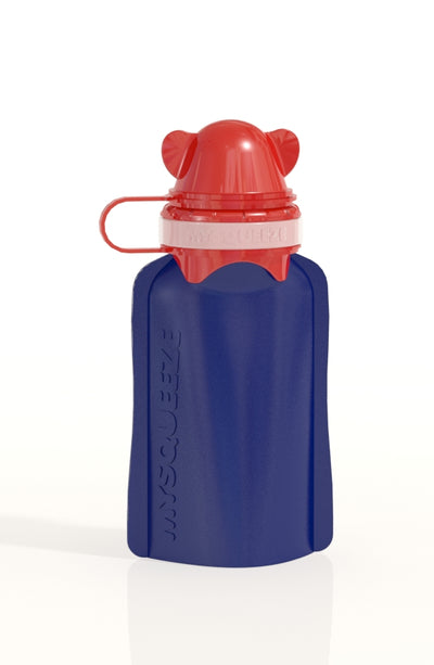 My Squeeze Reusable Pouch Blue