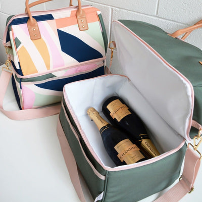 Blushing Confetti Cooler Bag