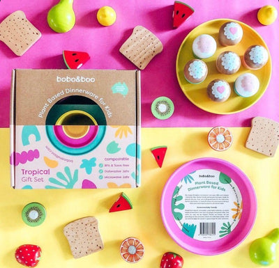 Bobo&Boo Plant Based Set - Tropical