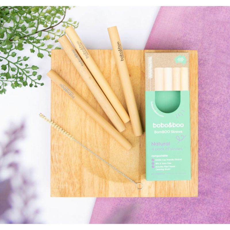 Bobo&Boo BamBOO Reusable Straws