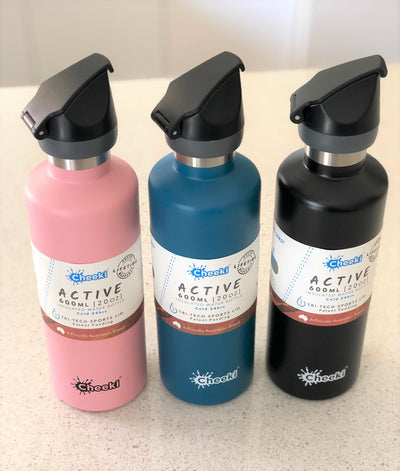Cheeki 600ml Active Bottles