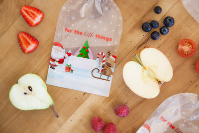Sinchies Reusable Food Pouches - Christmas