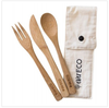 Ever Eco Bamboo Cutlery Set in Pouch
