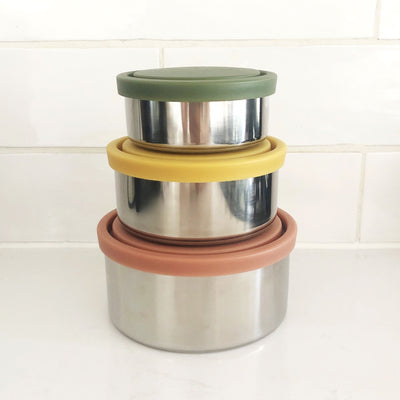 Ever Eco Round Nesting Containers - Autumn