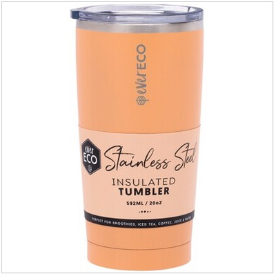 Ever Eco Insulated Tumbler - Los Angeles Peach